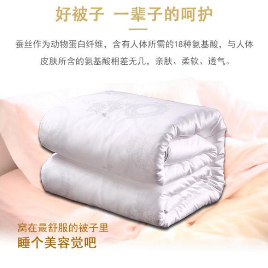 郑州蚕丝被批发厂家