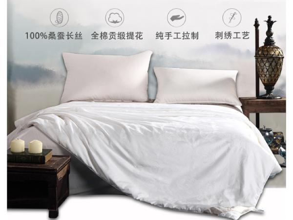 空调桑蚕丝被几斤合适-空调房可调节睡眠温度的纤维[常久]