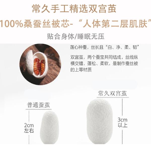 在杭州哪里能买到真的蚕丝被