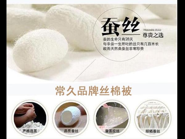 定制丝绵被-品质生活源于健康好床品[常久]