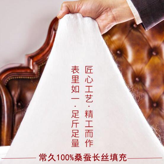 丝棉被的价格