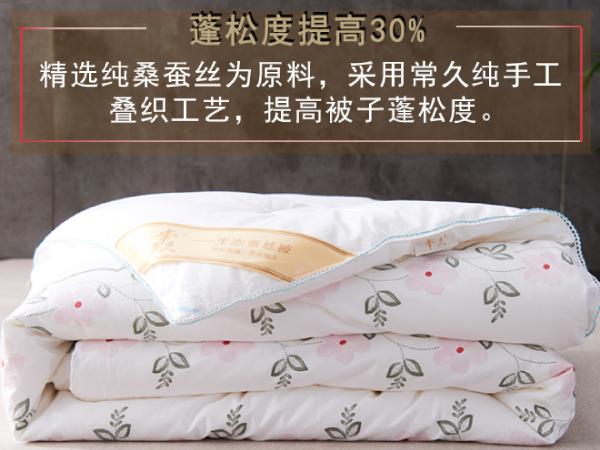 江苏南通蚕丝被价格-品牌厂家更有保障[常久]