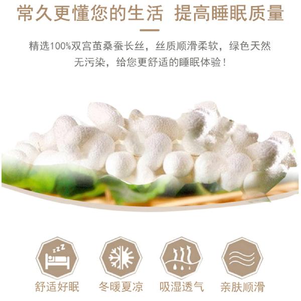 广州蚕丝被厂家批发