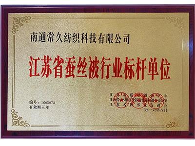 常久蚕丝被-江苏省蚕丝被行业标杆单位