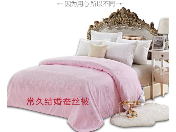结婚被子能不能用粉红的-红色系的颜色都可以选择