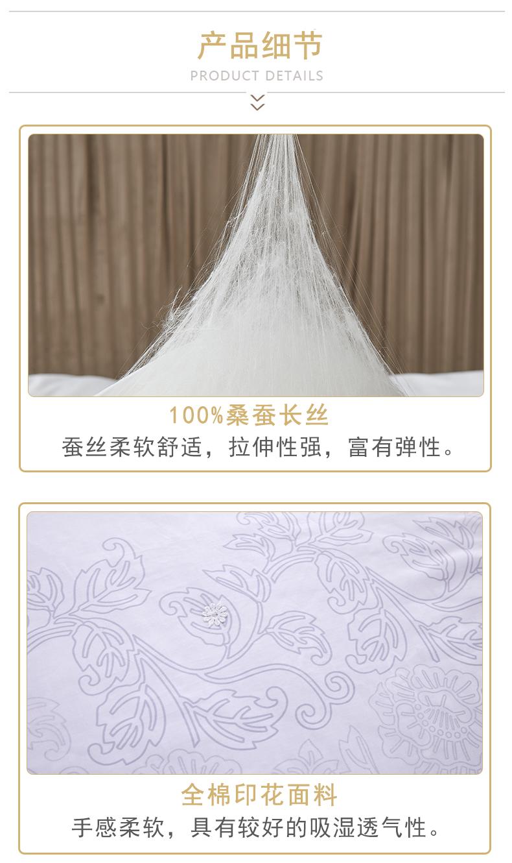冬季丝绵被(蓝色天幕白)