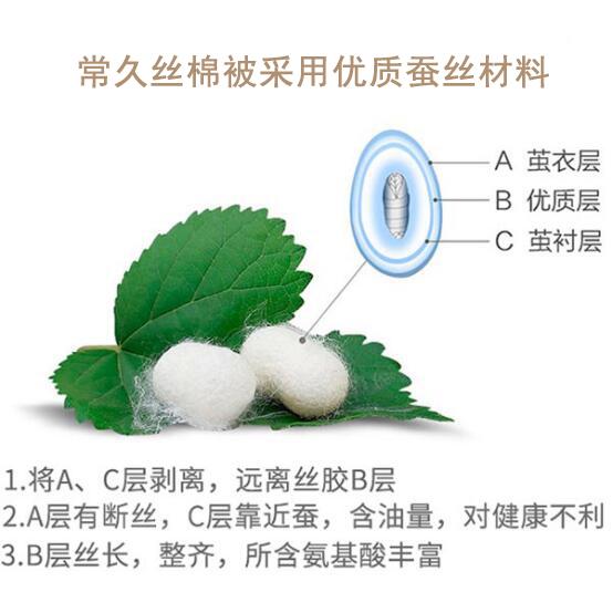 蚕丝棉被怎么选