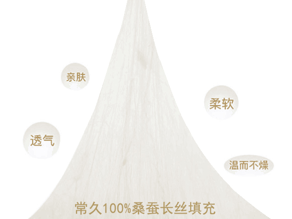 在杭州夏天空调蚕丝被几斤合适-这样的重量刚好