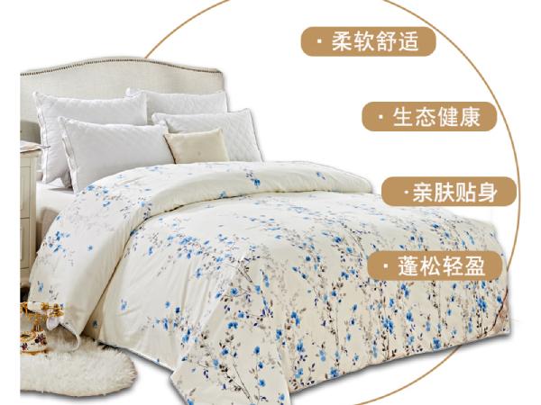 桑蚕丝被1斤的价格是多少-买对被子带来健康睡眠[常久]