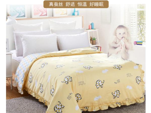 儿童睡丝棉被子好吗-宝妈们要正确选择[常久]