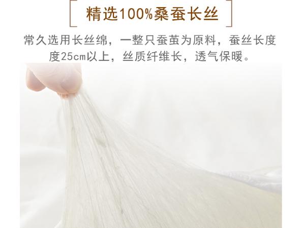 北京买蚕丝被去哪里-这么专业的工厂不选择吗[常久]
