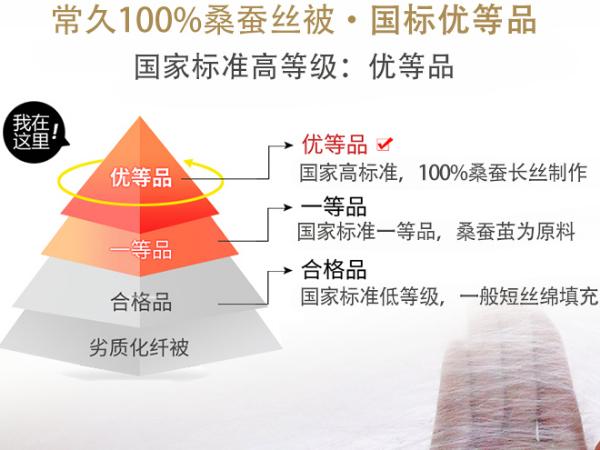 1斤蚕丝被多少钱-售价自然与品质直接挂钩[常久]