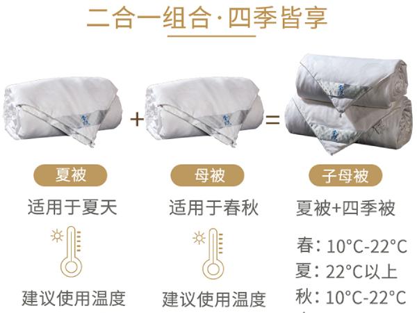 黑龙江人用几斤桑蚕丝被-厂家推荐这种实用的重量[常久]