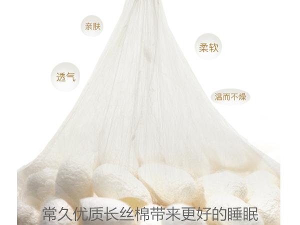 一般丝棉被多少钱一斤-现在正是购买秋冬蚕丝被的时节[常久]