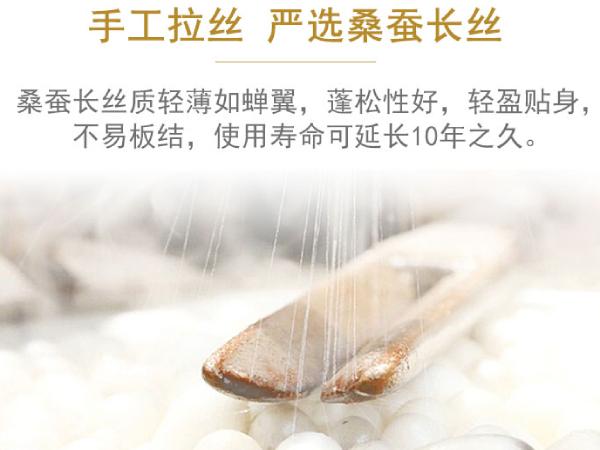 沈阳哪卖现做的蚕丝被-健康好被子要选好源头工厂[常久]
