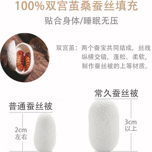 广西蚕丝被生产厂家