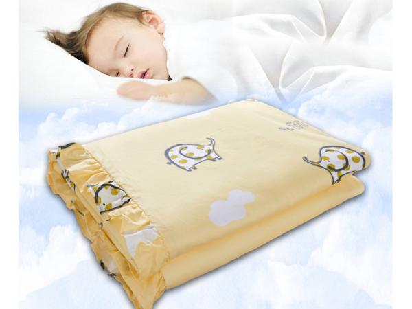 丝棉被子新生儿盖好吗-呵护宝宝睡眠需要它[常久]