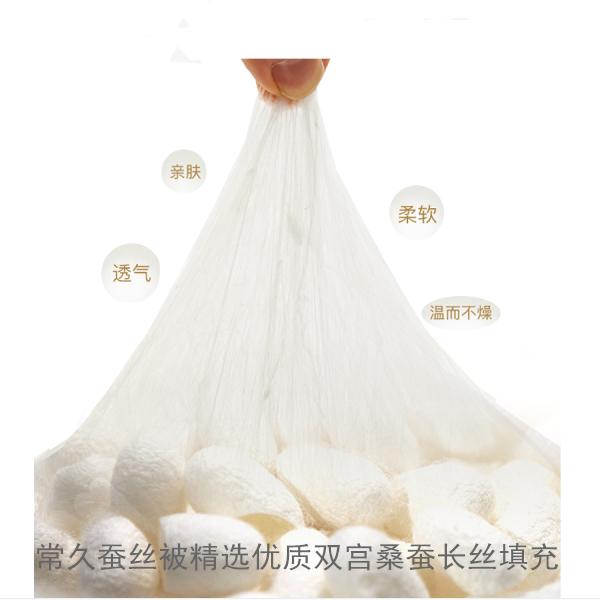 纯蚕丝被长丝棉