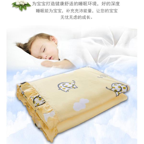 儿童蚕丝被让宝宝无忧睡眠