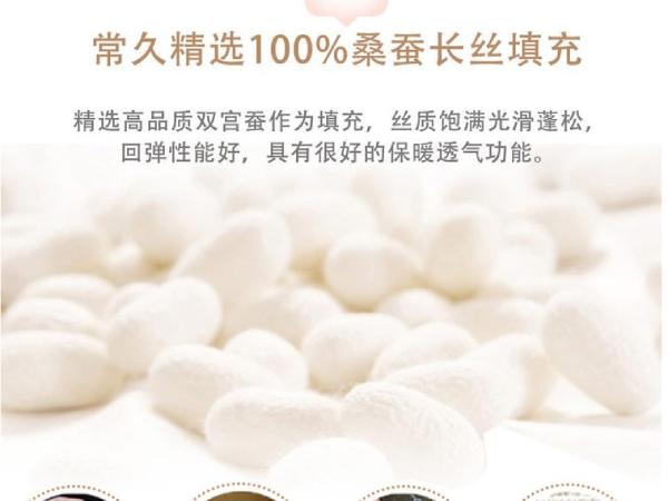哪里可以买到真的桑蚕丝被-品质厂家只做真蚕丝被[常久]