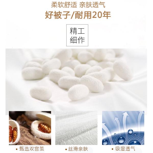 纯蚕丝棉被多少钱