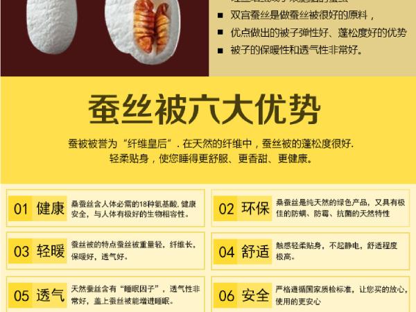 上海桑蚕丝被冬季要几斤最适合-6斤是最基本的[常久]