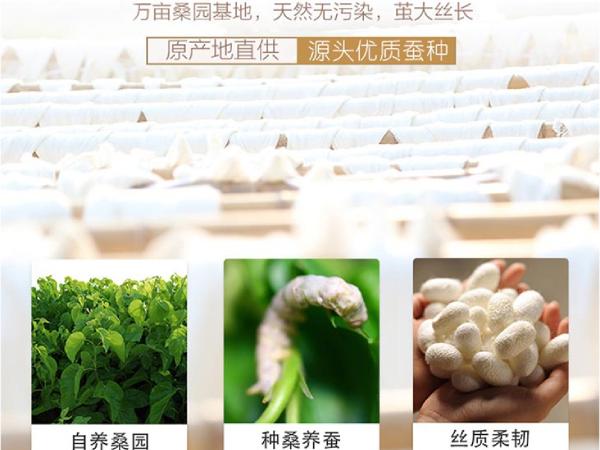 蚕丝被源头-源头工厂具有这些优势