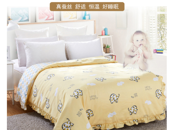 月子里的婴儿能否盖桑蚕丝被-健康的睡眠从出生抓起[常久]